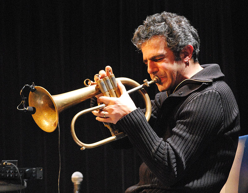 Paolo Fresu, in una immagine di Wikipedia.