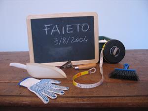 Alcuni strumenti usati dagli archeologi