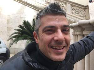 Luigi Vacca in una fotografia di Marcello Polastri