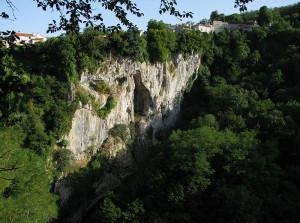 La zona carsica delle Foibe.