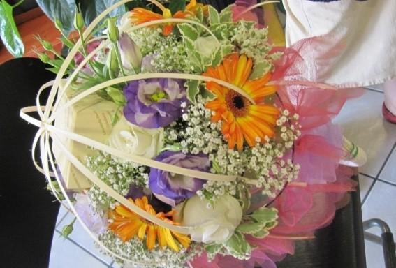 Un mazzo di fiori.