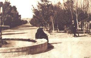 I Giardini pubblici di cagliari nel 1800.