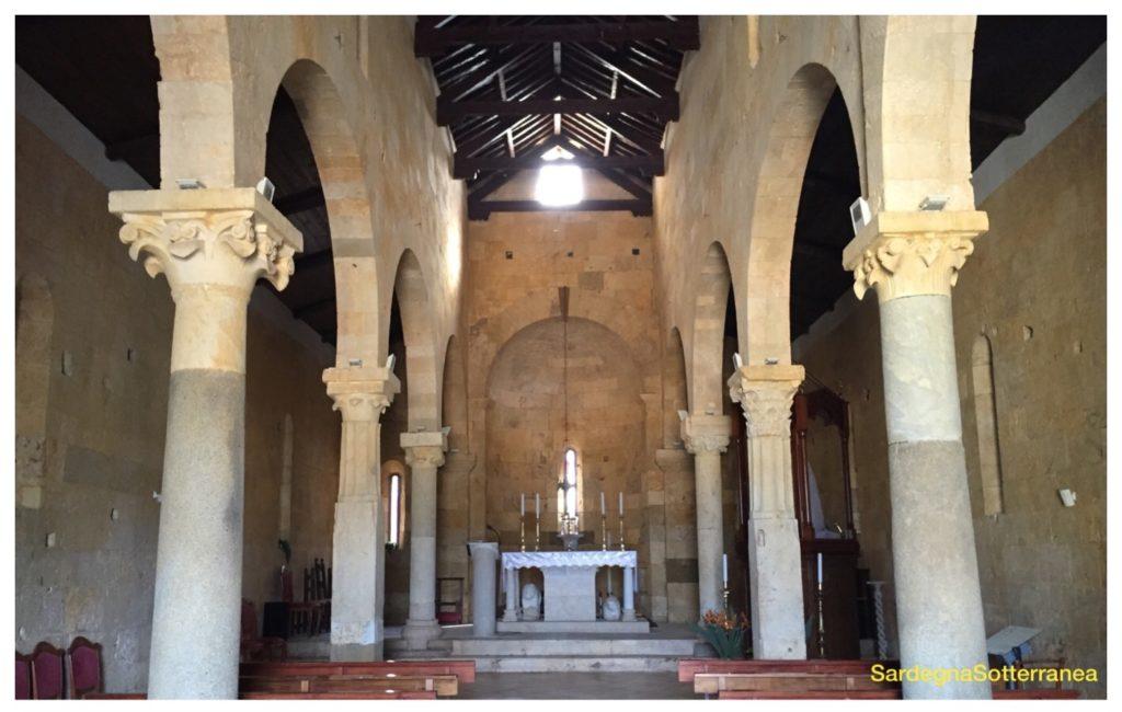 La chiesa Santa Maria a Uta