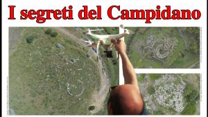 Ettore Tronci con il suo drone e le immagini dei nuraghi...