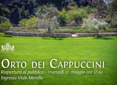 Apre a Cagliari un mega parco verde: rinasce l'Orto dei Cappuccini