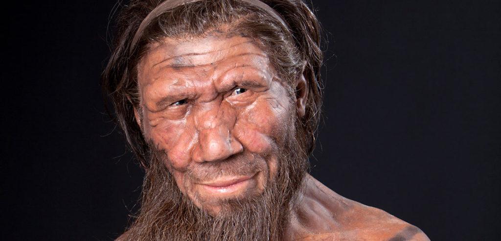 Neanderthal in una ricostruzione