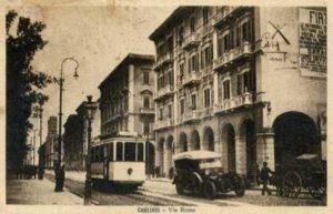 Cagliari - Tram - Via Roma