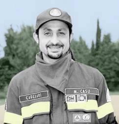 Massimo Casu in una immagine scattata al tempo in cui lavorava.