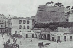 Piazza Costituzione sul finire del 1800