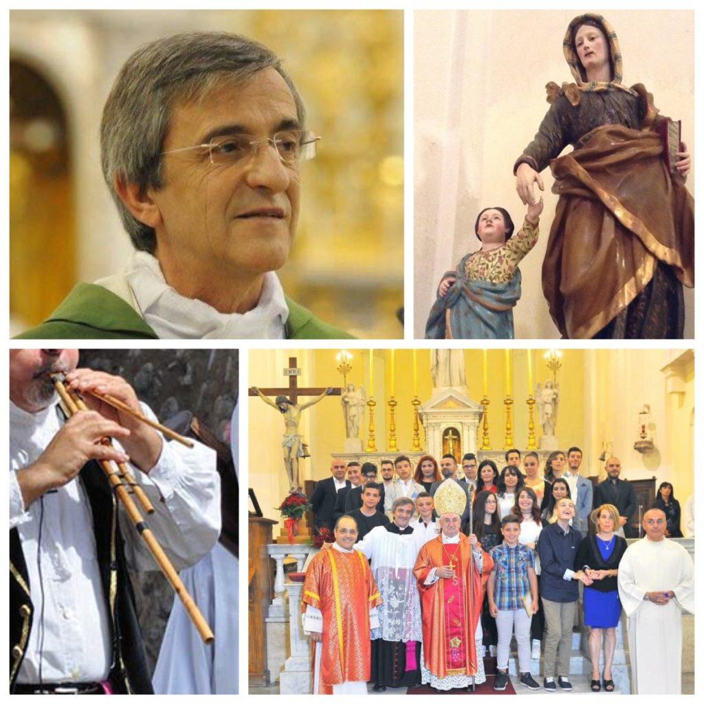 Alcuni momenti della parrocchia di Sant'Anna.