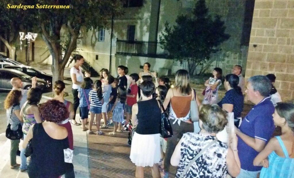 Tour guidato notturno a Oristano
