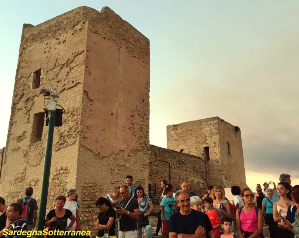La scorsa edizione del Mistery tour al Castello di San Michele.