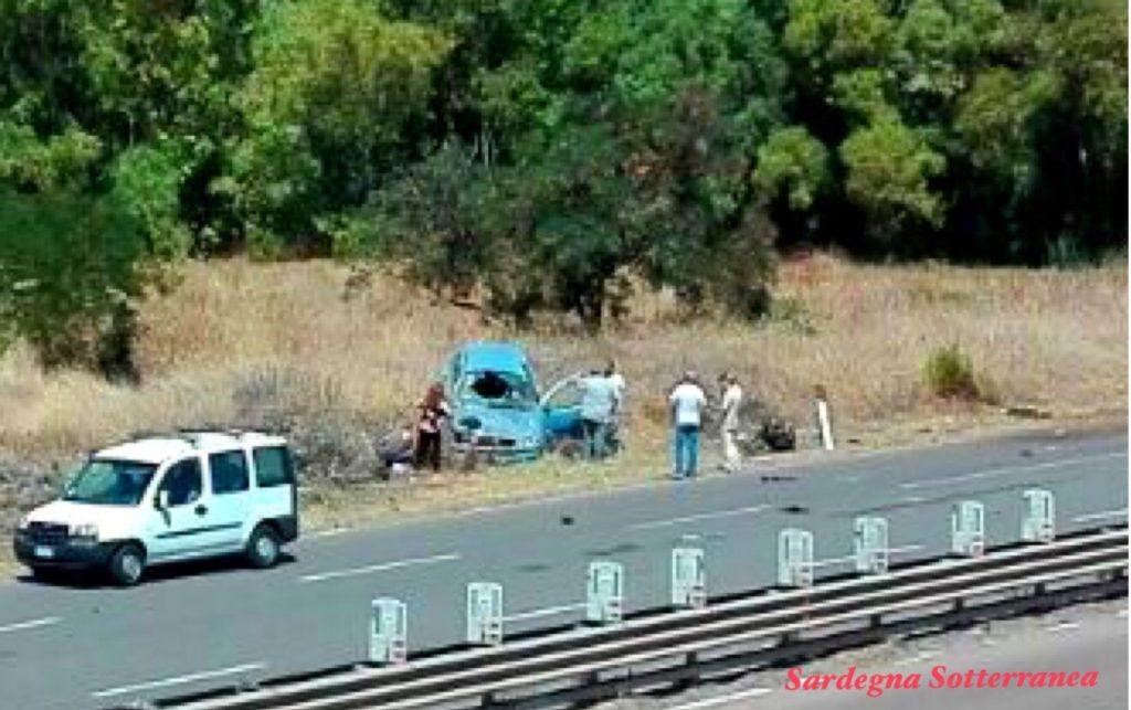 L'incidente in una immagine di Roberto Brughitta