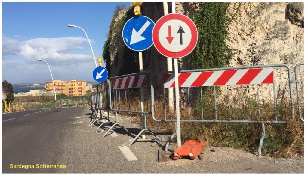 Via Vittorio Veneto e le sue 47 transenne
