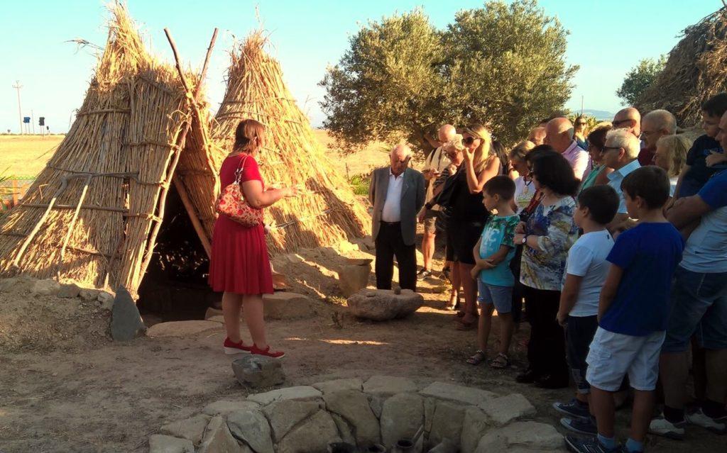 L'inaugurazione del parco archeologico didattico