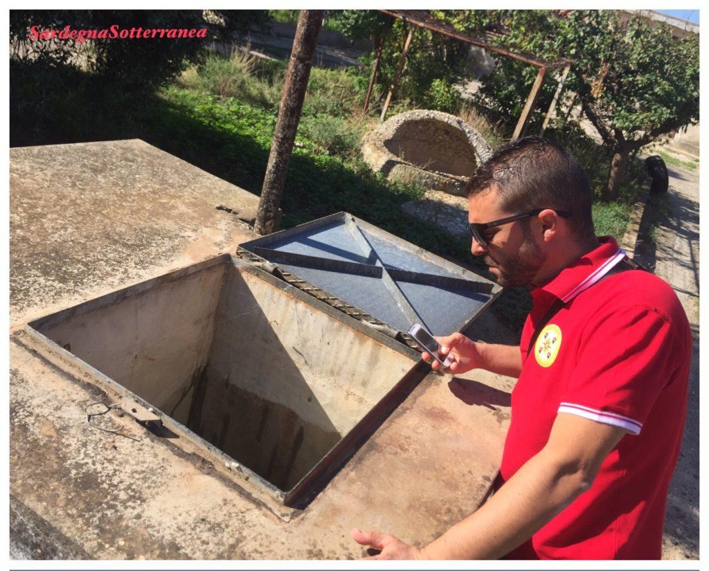 Rilievo nelle cavità sotterranee del colle Sant'Elia a Cagliari