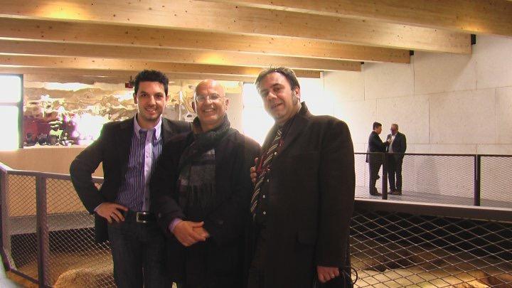 Da sinistra a destra: Polastri, Pili, Lai.