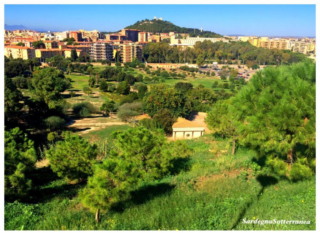 Monte Claro a Cagliari.