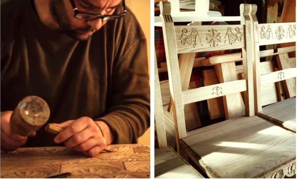 Antonello puddu pirri legno