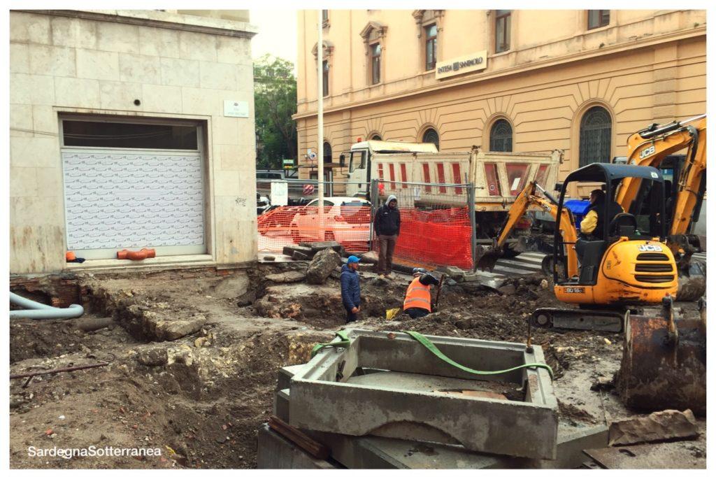 Scoperta archeologica Cagliari