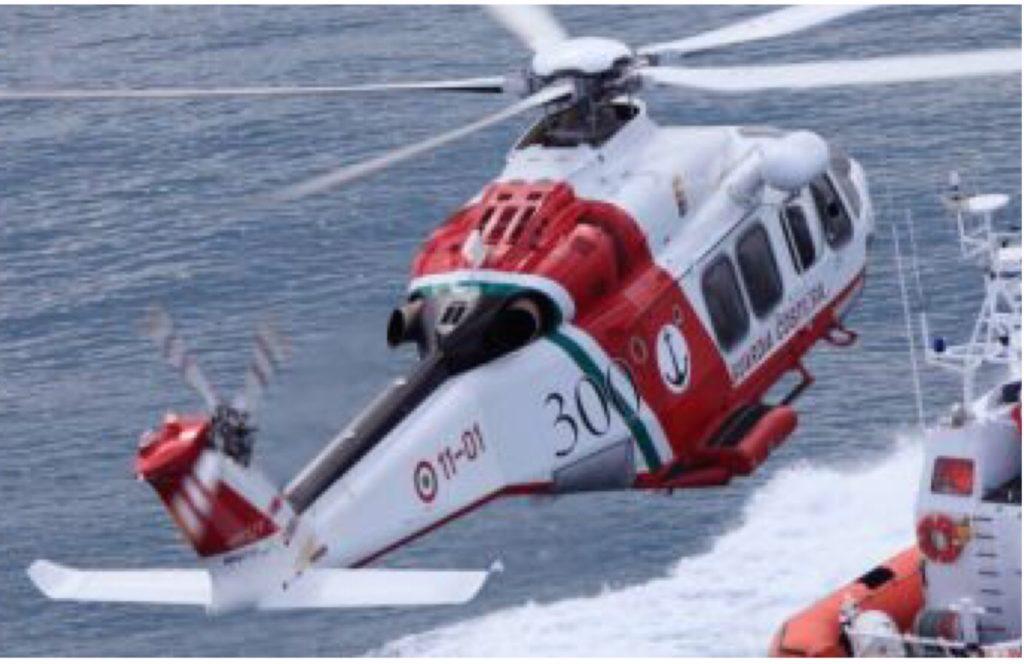 Elicottero della Guardia Costiera.