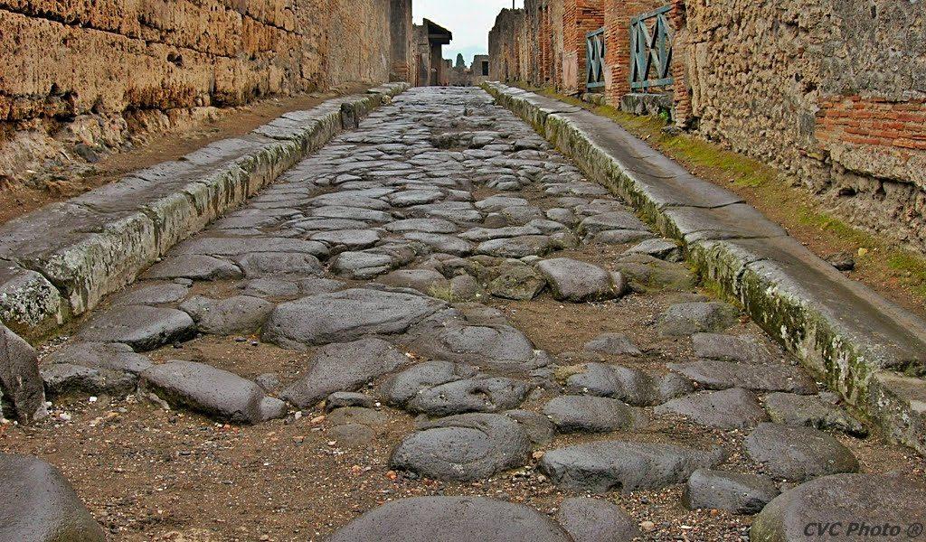 Strada romana Pompei