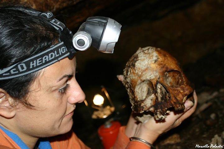Crani umani a Santu Lemu