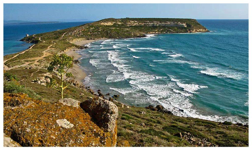 Capo San Marco nella penisola del Sinis.