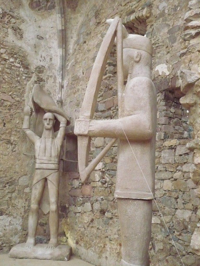 Scultura statue monti Prama