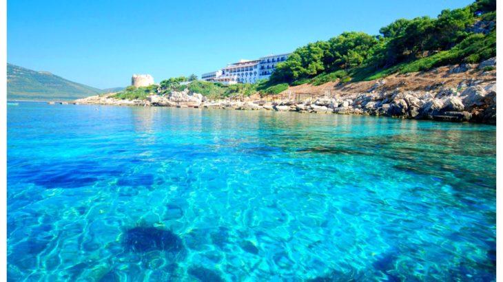 Il bel mare di Alghero.
