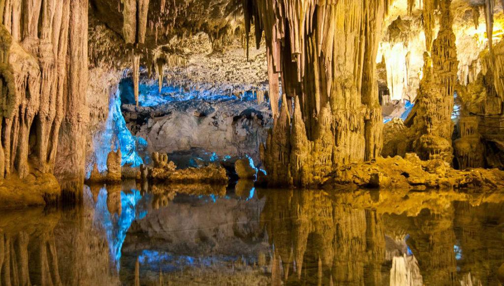 Le grotte di Nettuno ad Alghero.