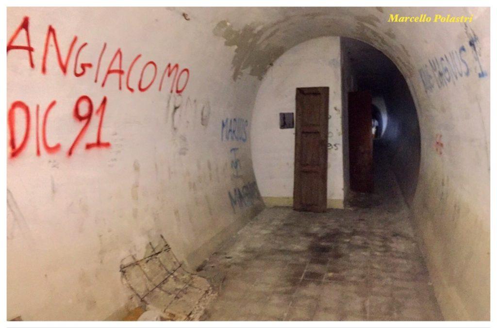 Il tunnel sotto il colle San Michele.