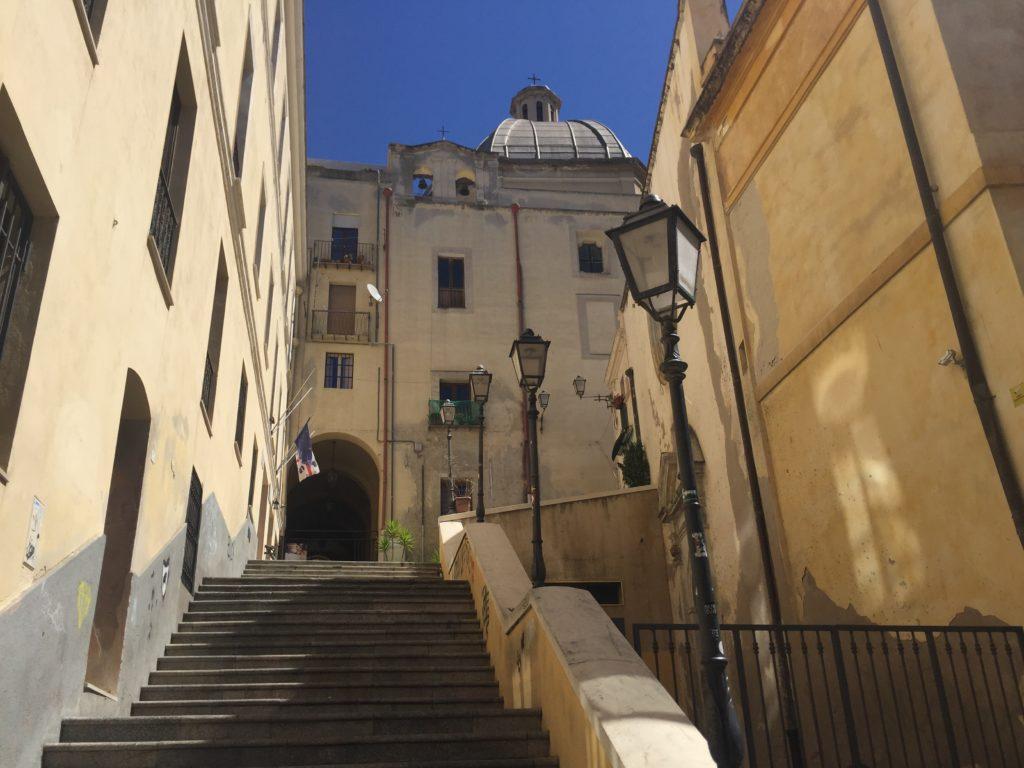 Portico Sant'Antonio a Cagliari foto di Marcello Polastri