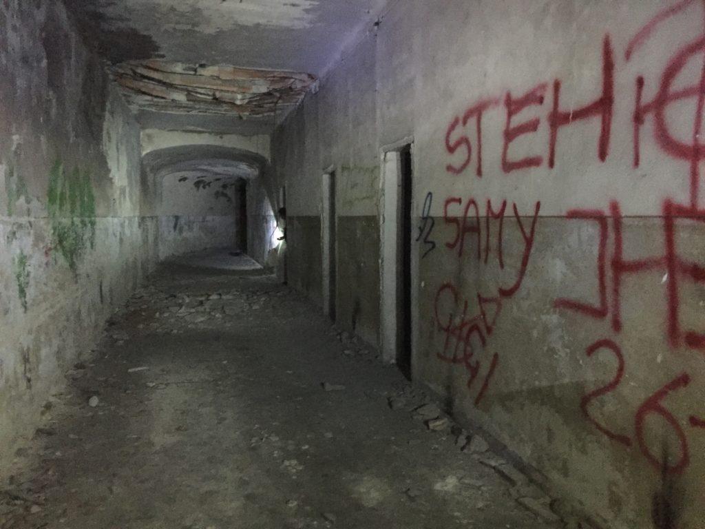Ospedale cagliari sotterranea