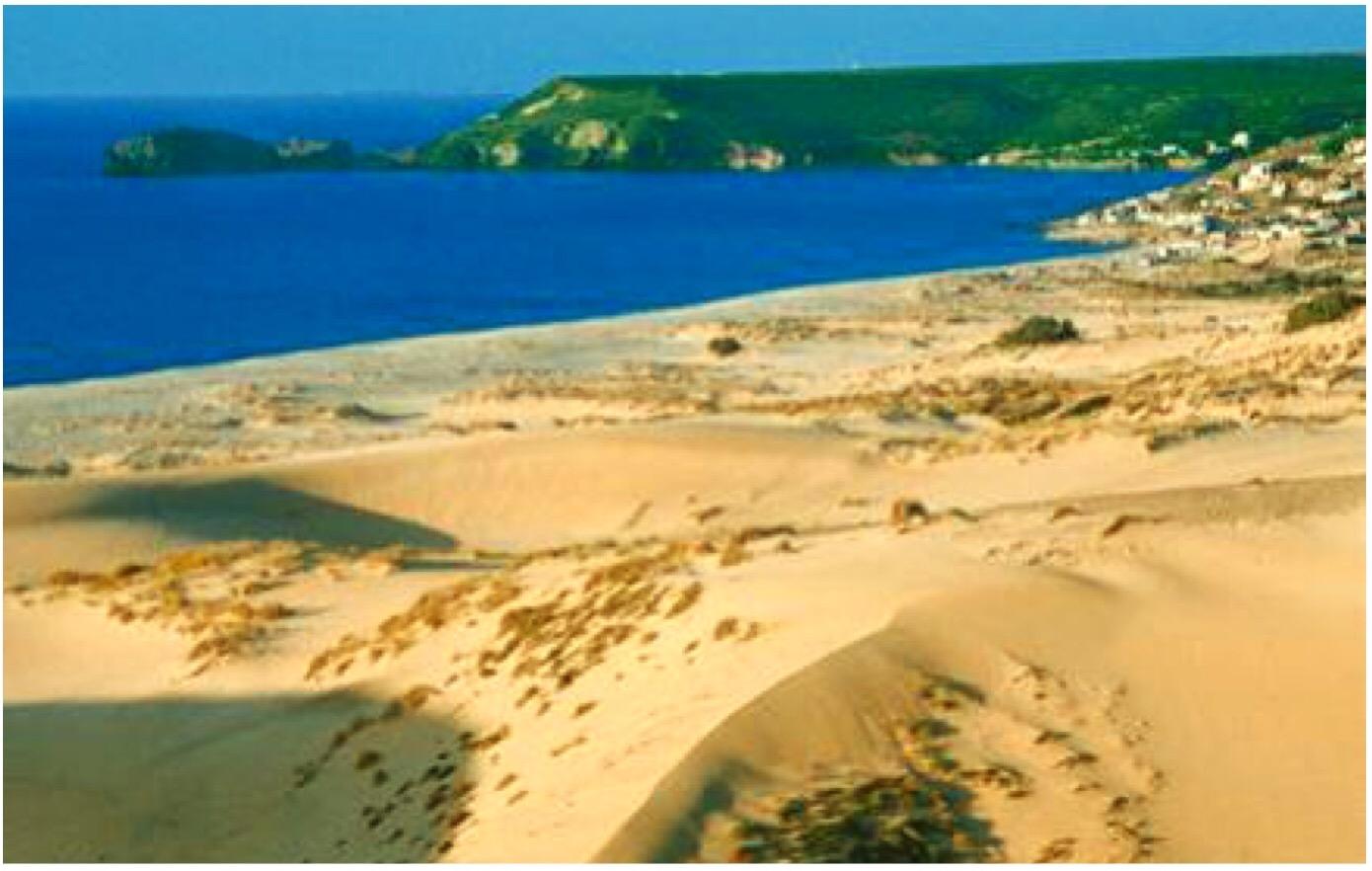 Preziose Bianche O Dorate Sono Le Dune Di Sabbia Della