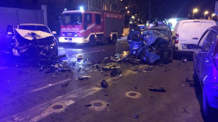 Incidente cagliari