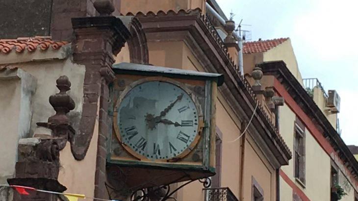 Bosa orologio antico