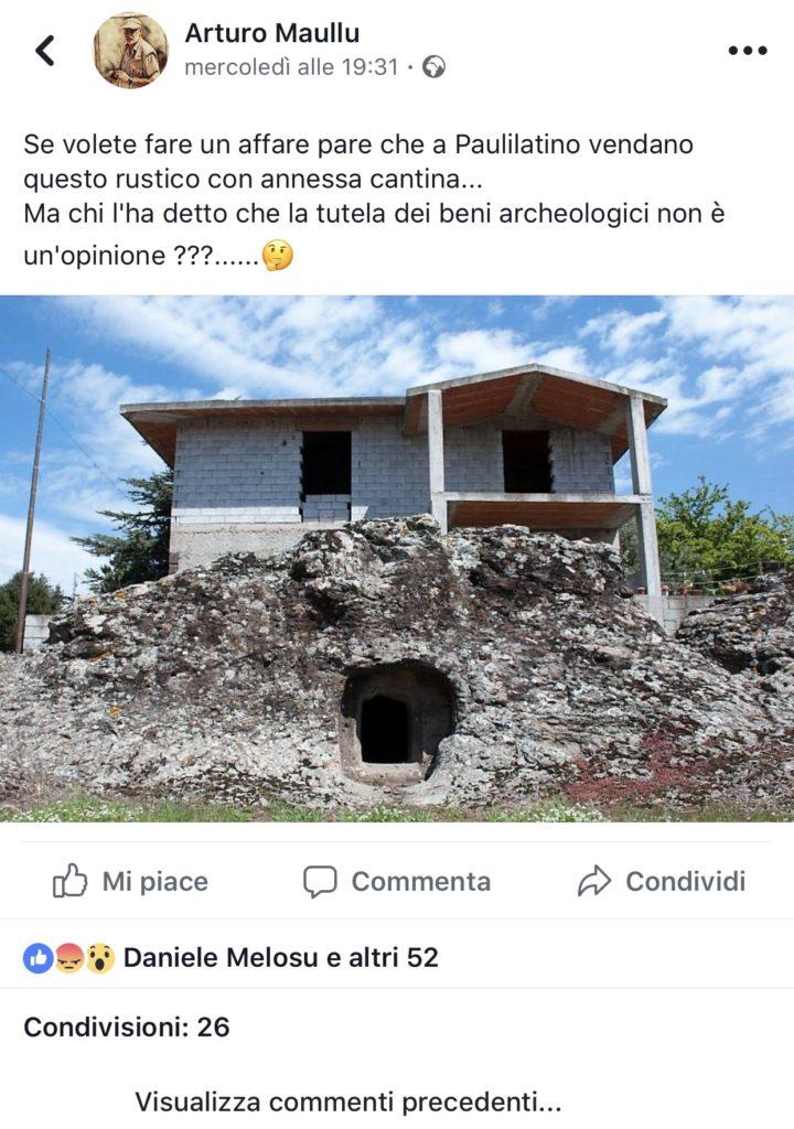 Domus de Janas paulilatino