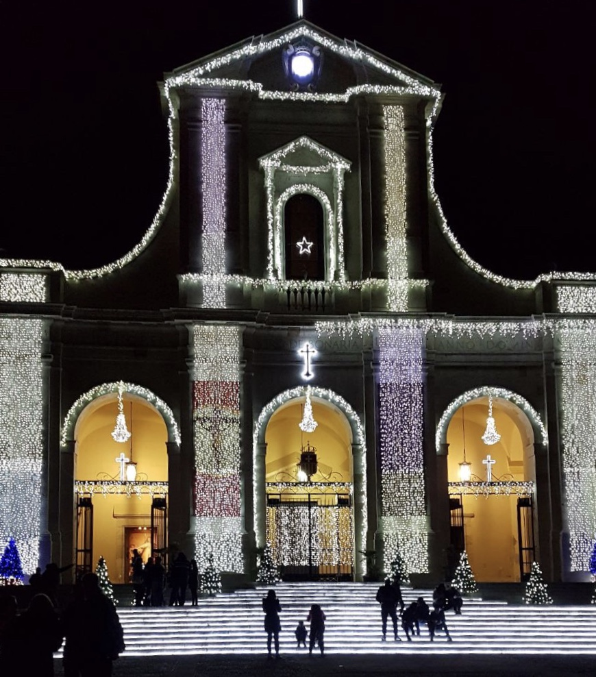 Facciata basilica Bonaria