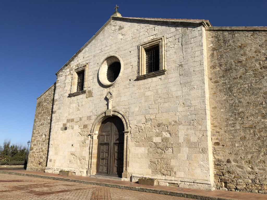 Mandas Chiesa San Giacomo