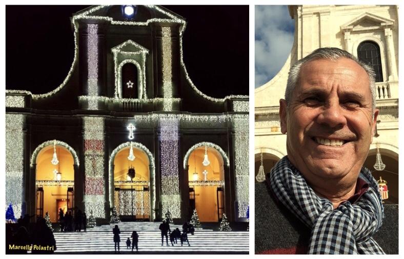 Luminarie Basilica bonaria Cagliari
