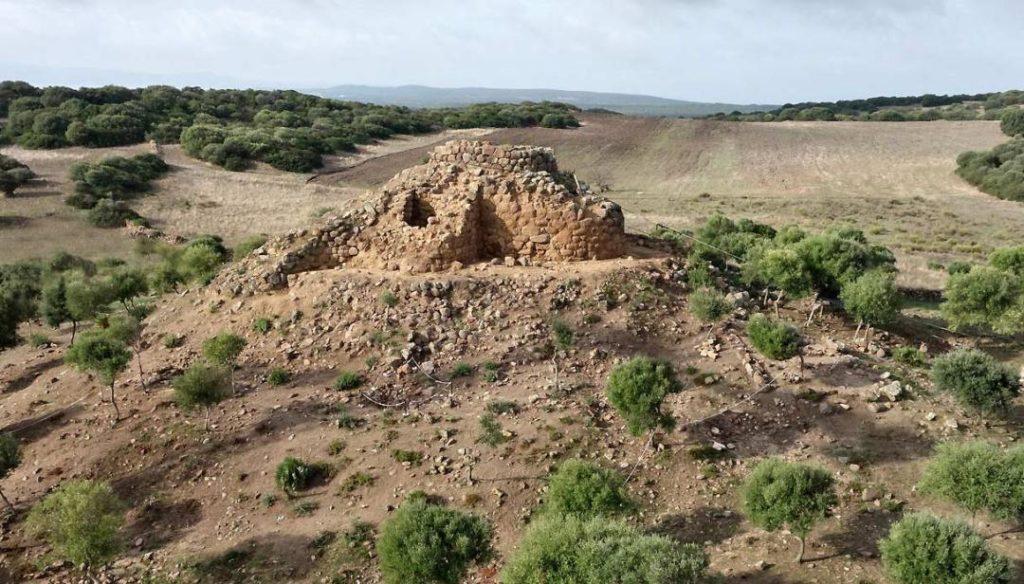 Il nuraghe Sirai, a Carbonia
