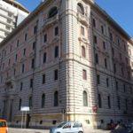Palazzo Tirso in piazza Defenu a Cagliari